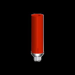 Direct Titanium Plastic Abutment with Hex.