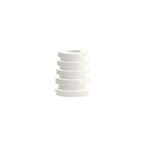 W One Piece Zirconia Implant Temporary Cap for Bridge Ø4.1