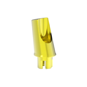 Titanium Abutment For W Tissue Level Zirconia Implant 15°