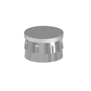 Metal Housing for Plastic Ball Cap