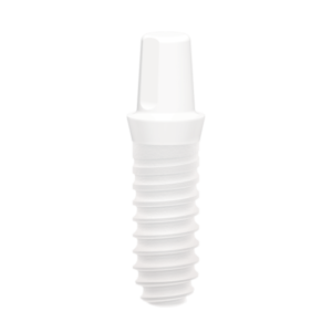 W One Piece Zirconia Implant Ø4.1 L12mm